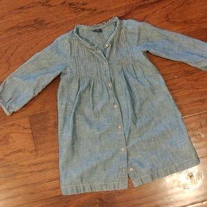 Gap Cotton Denim Dress 3
